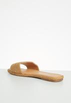Plum - Chesire sandal - brown