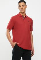 Nautica - Classic fit deck polo - red