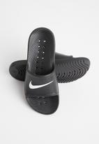 Nike - Nike kawa shower slide - black & white