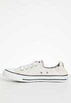 Converse - Chuck Taylor All Star shoreline slip - pale putty/white/black