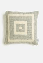 Sixth Floor - Tess woven cushions cover - grey