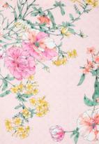 edit - Sheer shacket - pink