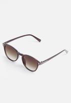 Superbalist - Billie round sunglasses - brown