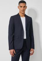 Superbalist - Regent slim fit blazer - navy