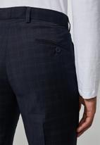 Superbalist - Regent slim fit trousers - navy