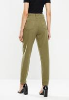 Missguided - Riot jean co ord - khaki