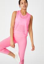 Cotton On - All things fabulous cropped muscle tank - pink