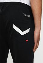 S.P.C.C. - Mason fashion elasticated shorts - black