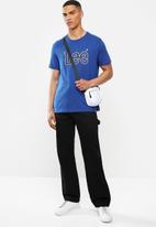 Lee  - Applique tee - blue