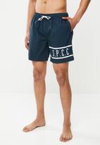 S.P.C.C. - Fashion swim shorts - navy