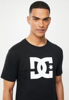 DC - Star short sleeve tee - black