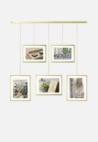 Umbra - Exhibit photo display mat - brass