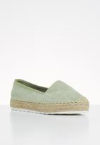 Madison® - Kassidy espadrille - green