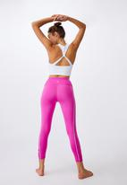 Cotton On - Love you a latte 7/8 active tight - magenta