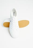 POLO - Chloe leather sneaker - white