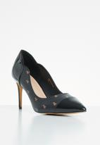 POLO - Hailey monogram court - black