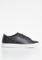 POLO - Sia 2 tone sneaker - black