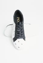 POLO - Sia monogram sneaker - white
