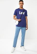 Lee  - Clean cut tee - navy
