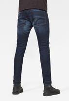 G-Star RAW - 5620 3D zip knee skinny-elto pure superstretch - worn in xenon blue