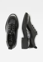 G-Star RAW - Tacoma shoe - dk silver & dk black