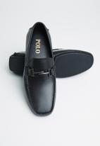 POLO - Kent t-bar leather driver - black