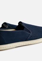 MANGO - Slip-on Miami shoes - navy