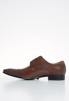 POLO - Steph toecap fashion lace up - brown