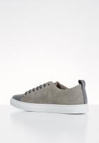 POLO - Neville two tone sneaker - grey & brown