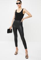 Sissy Boy - All over bling logo bodysuit - black