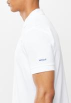 Pringle of Scotland - St Augustine styled golfer - white