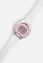 Casio - Kids 50m digital stop watch - white