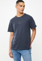 Cotton On - New York city 1994 Tbar text T-shirt  - true navy