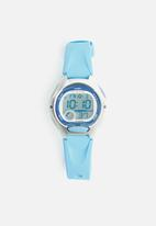 Casio - Kids 50m digital stop watch - blue