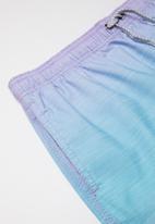 Billabong  - Boys sergio layback boardshort - blue & pink