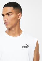 PUMA - Ess+ sleeveless shirt - white
