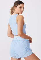 Cotton On - Lifestyle seamless longline vestlette - skye blue