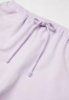 Superbalist - Plain jog shorts - purple