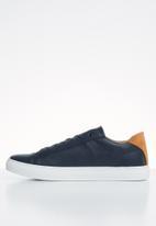 POLO - Mens bill crest pu sneaker - navy