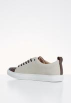 POLO - Neville two tone sneaker - brown