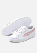 PUMA - Womens Love sneaker - puma white & peachskin
