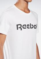 Reebok - Linear dp tee - white