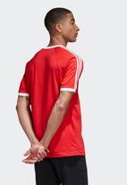 adidas Originals - Cali short sleeve tee - scarlet