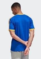 adidas Originals - Cali short sleeve tee - team royal blue & active gold