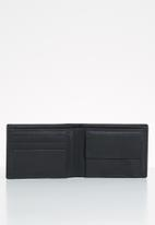 BOSSI - Antbbf leather - black