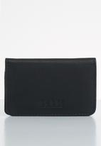 BOSSI - Antbch leather - black