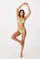 Cotton On - Full bikini bottom - mint daisy