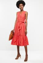 MANGO - Cris dress - red