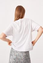 Cotton On - The boxy boyfriend tee - silver marle