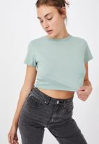 Cotton On - The baby tee - lush green